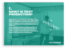 What is takt production?